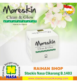 moreskin clean glow nasa