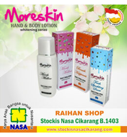 moreskin hand body lotion nasa