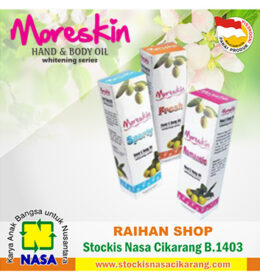 moreskin hand body oil nasa