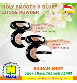 looke holy smooth & blur loose powder