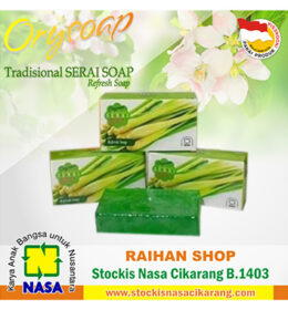 orysoap serai soap